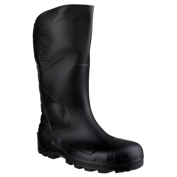 Dunlop Devon Safety Wellingtons Black